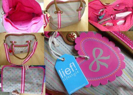 Lief!: Eine Wickeltasche mit Wow-Effekt