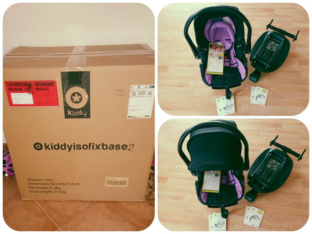 kiddy evolution pro 2 isofix eine babyschale mit stil. Black Bedroom Furniture Sets. Home Design Ideas