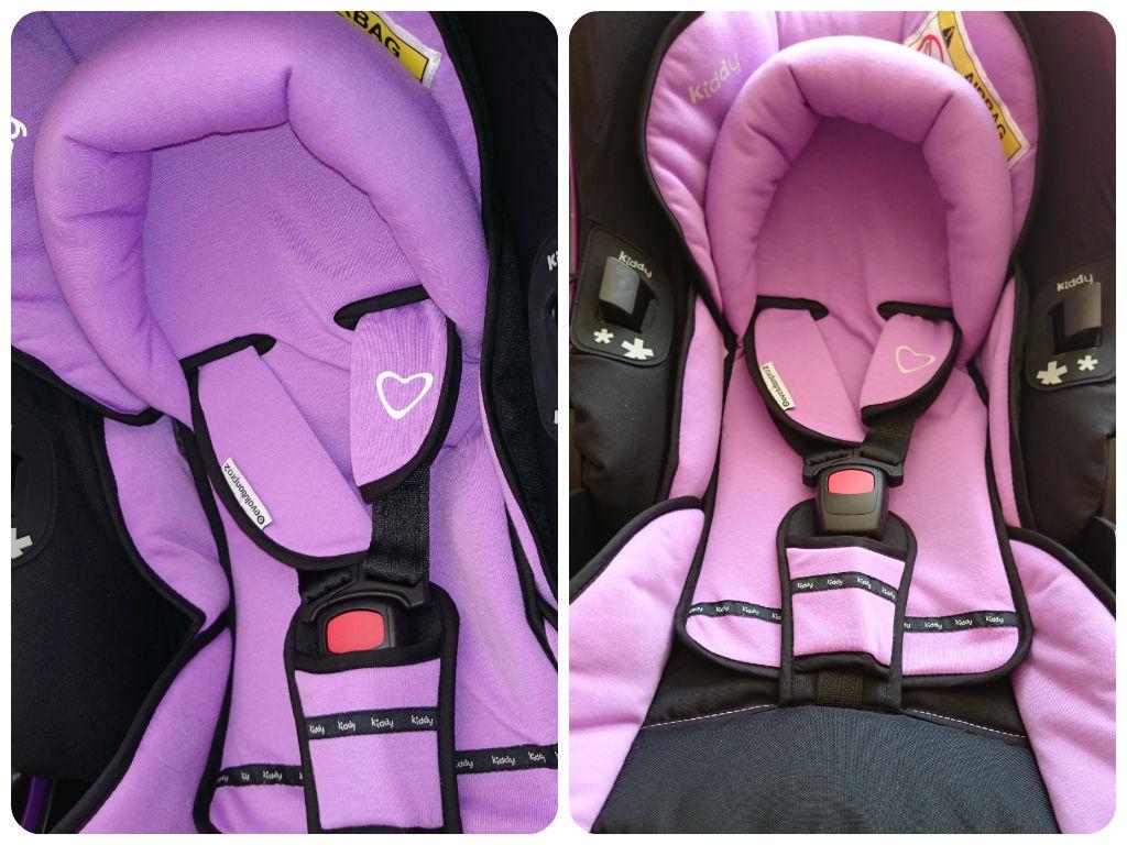 kiddy Evolution pro 2 Babyschale Liegefunktion Autositz
