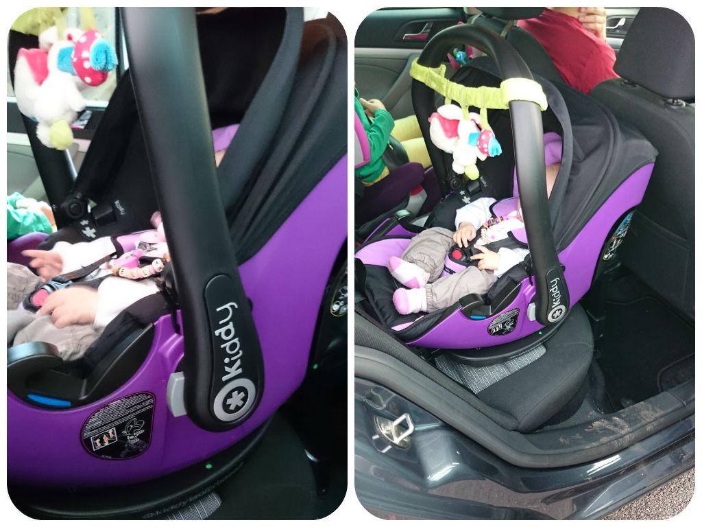 kiddy Evolution Pro 2 Isofix Isofixstation Autositz Babyschale Sicherheit Auto