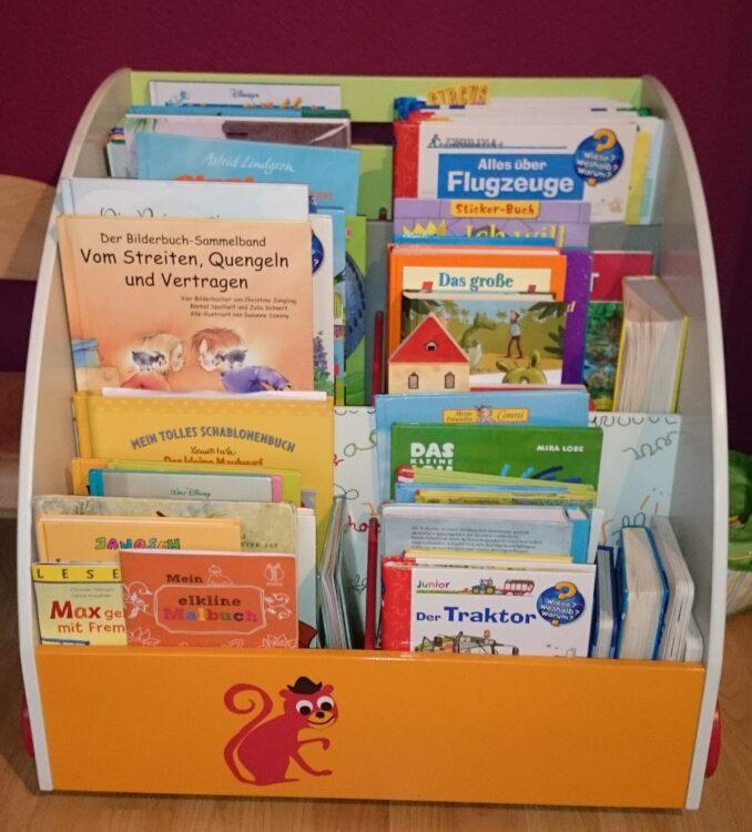 Kinderbuchregal Kinderbücher