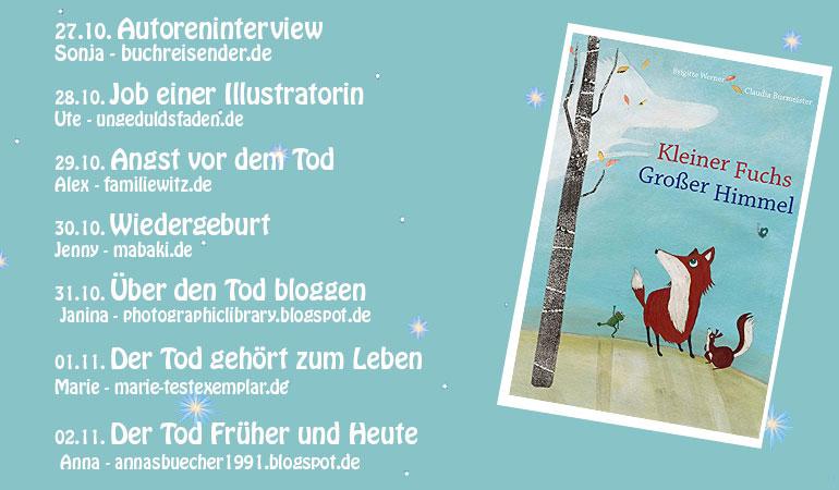 Blogtour – Kleiner Fuchs, Großer Himmel