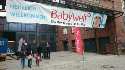 Wir besuchen die Babywelt in Berlin