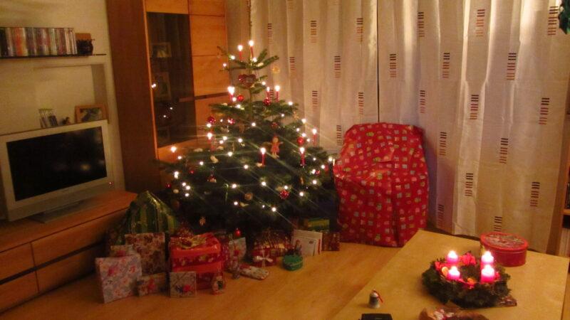 Zu Weihnachten vor 2 Jahren…