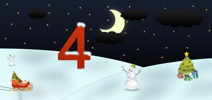 4. Adventskalendertürchen