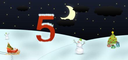5. Adventskalendertürchen