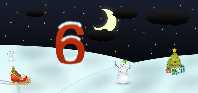 6. Adventskalendertürchen