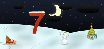 7. Adventskalendertürchen