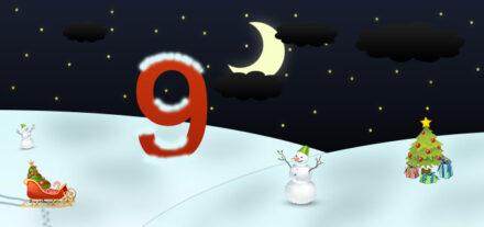 9. Adventskalendertürchen