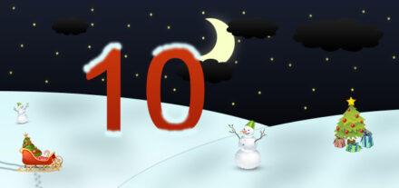 10. Adventskalendertürchen