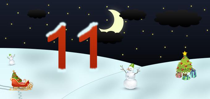 11. Adventskalendertürchen