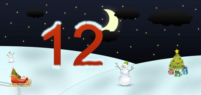 12. Adventskalendertürchen