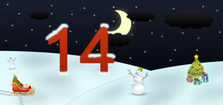 14. Adventskalendertürchen