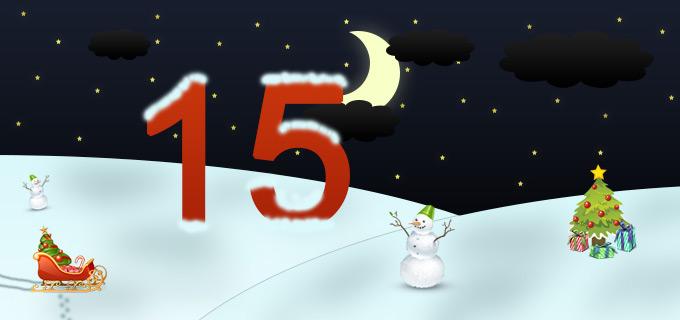 15. Adventskalendertürchen