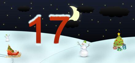 17. Adventskalendertürchen
