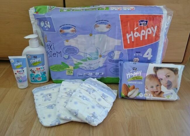 Produkttest: Bella Baby Happy Windeln + Gewinnspiel