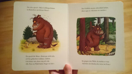 Dieses Kinderbuch sollte in keinem Bücherregal fehlen: Der Grüffelo