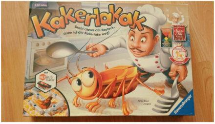 Kakerlakak: Das Spiel mit Löffel, Gabel, Messer und einem flinken Zappeltier