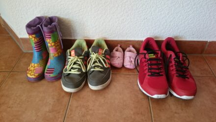 Die ersten Schuhe für die Kleinsten