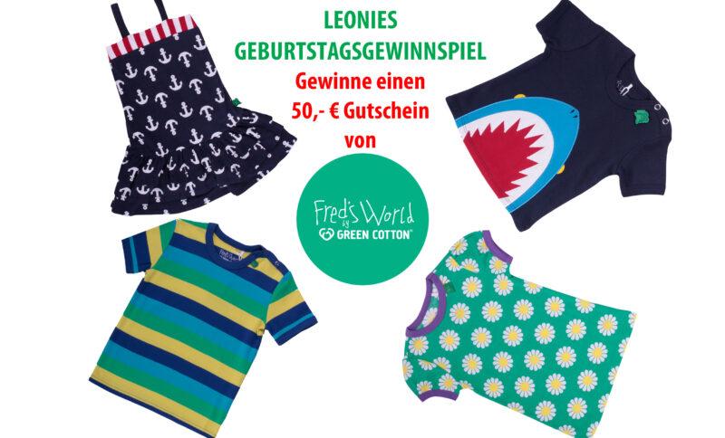LEONIES GEBURTSTAGSGEWINNSPIEL mit FRED´S WORLD