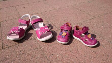 Von Ellas ersten Lauflernschuhen und einer Überraschung im Schuhladen