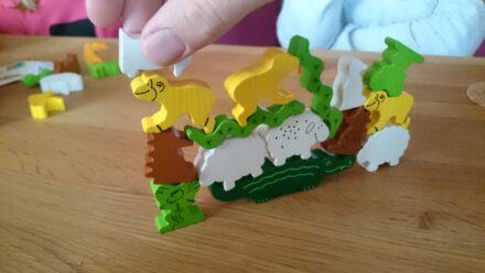 Tierischer Spielspaß für die ganze Familie: Tier auf Tier von HABA