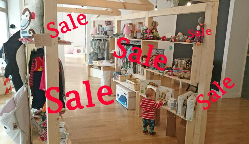 Sale, Sale, Sale – Wohin das Auge schaut!