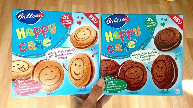 Happy Cake – die kleinen, fröhlichen Kuchenstücke mit der zarten Füllung