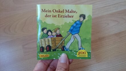 Kostenfreies Pixibuch: Mein Onkel Malte, der ist Erzieher