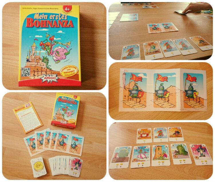 Mein erstes Bohnanza Amigo Spiele Gesellschaftsspiel Kinder