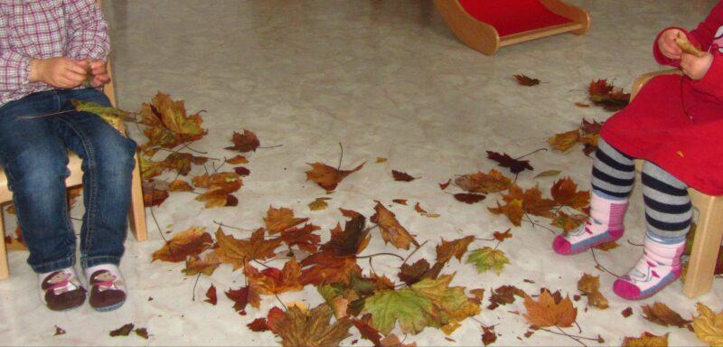 """Lied: """"Kleines Blatt"""" – zur Einstimmung in den Herbst"""