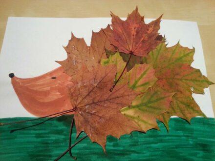 Blätter, Blätter, überall! Wir basteln mit Blättern!