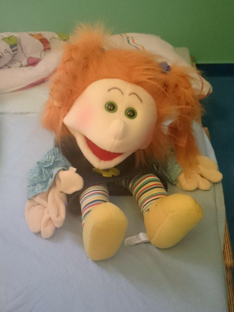 Neuer Name für unser Living Puppet-Mädchen