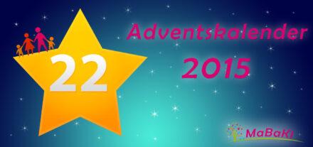 22. Adventskalendertürchen