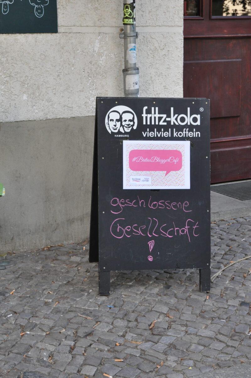 Mein erster Besuch beim Blogger-Café mit BRITAX