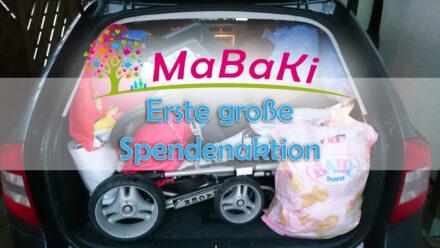 MaBaKi´s erste große Spendenaktion: MaBaKi hilft Flüchtlingen