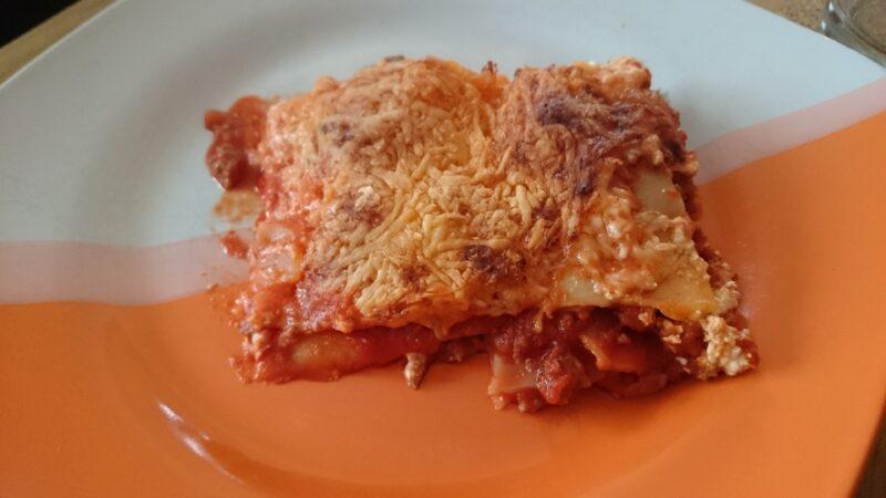 Unsere Lasagne