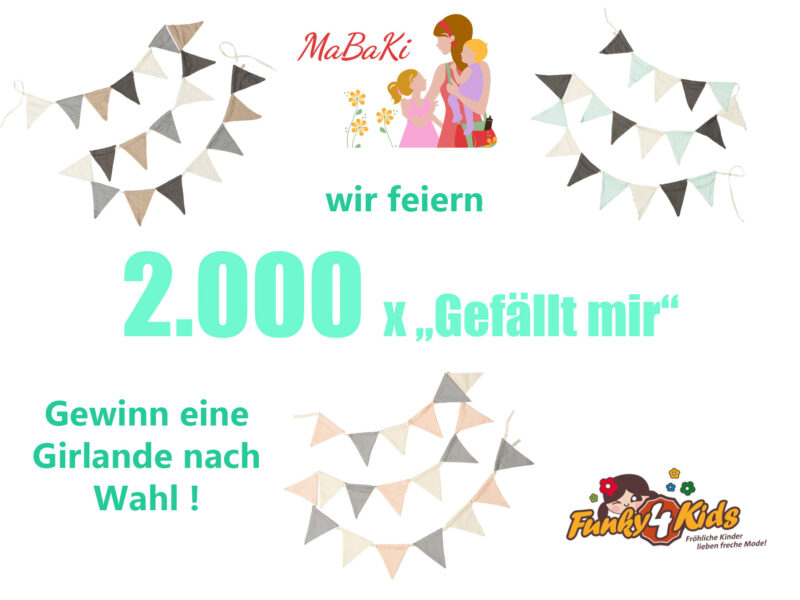 """Wir feiern 2.000 x """"Gefällt mir"""" auf Facebook"""