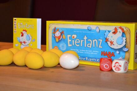 Eiertanz von HABA: Das Spiel mit dem verrückten Ei