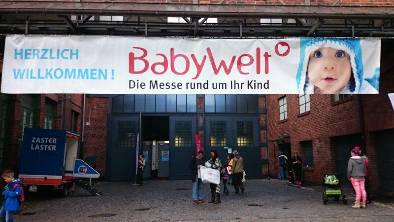Auf der Babywelt Berlin 2015