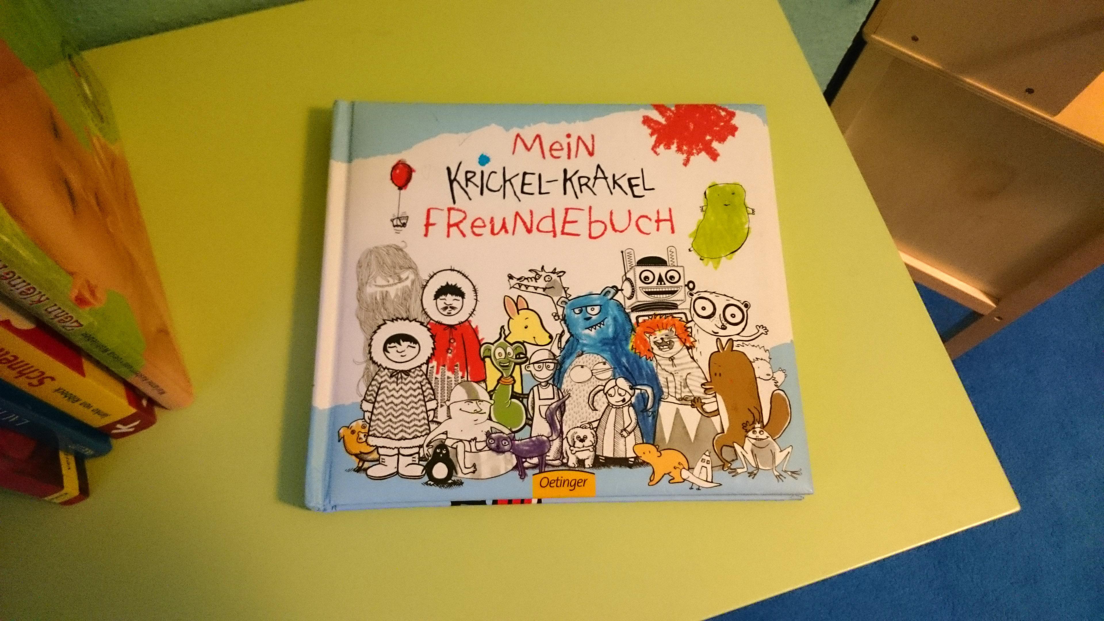 Mein Krikel-Krakel-Freundebuch