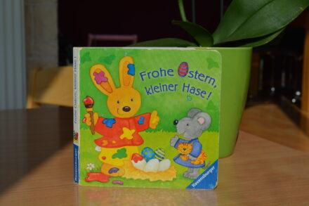 Frohe Ostern, kleiner Hase!