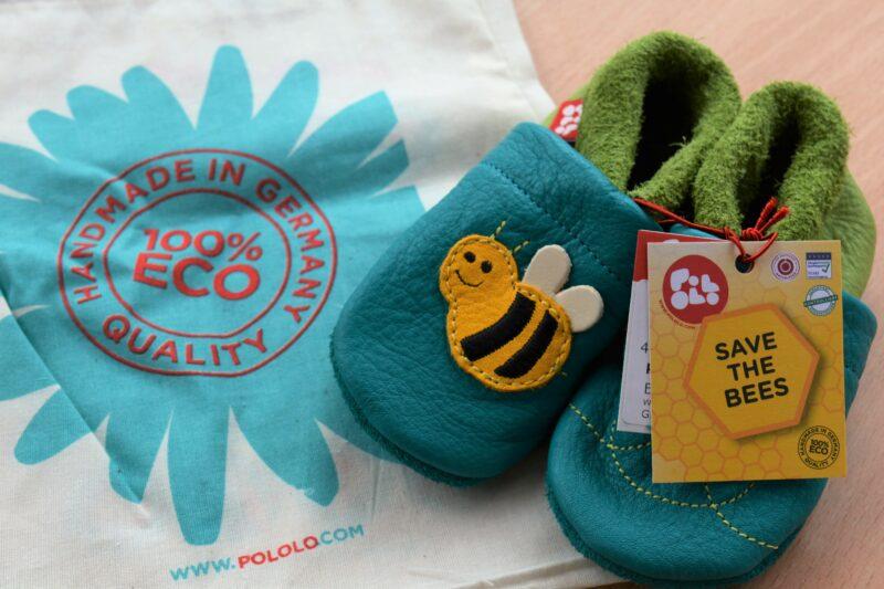 Süße Schuhe: Mit Biene Susi von POLOLO gegen das Bienensterben! + Hintergrundinfos von Franziska + Gewinnspiel