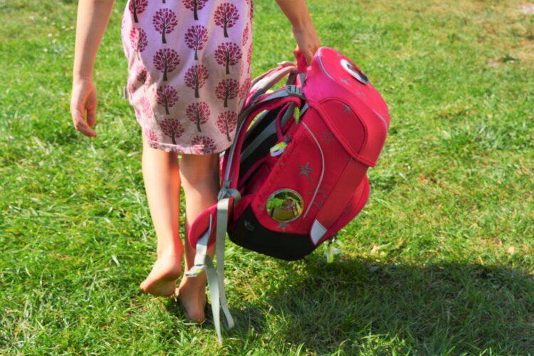 Schulkind Einschulung Schultüte Ergobag