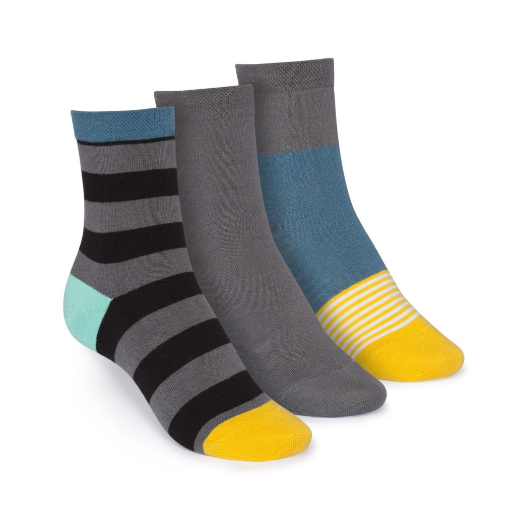 3er-pack-mid-top-socken-tape-graphite-triple-striped