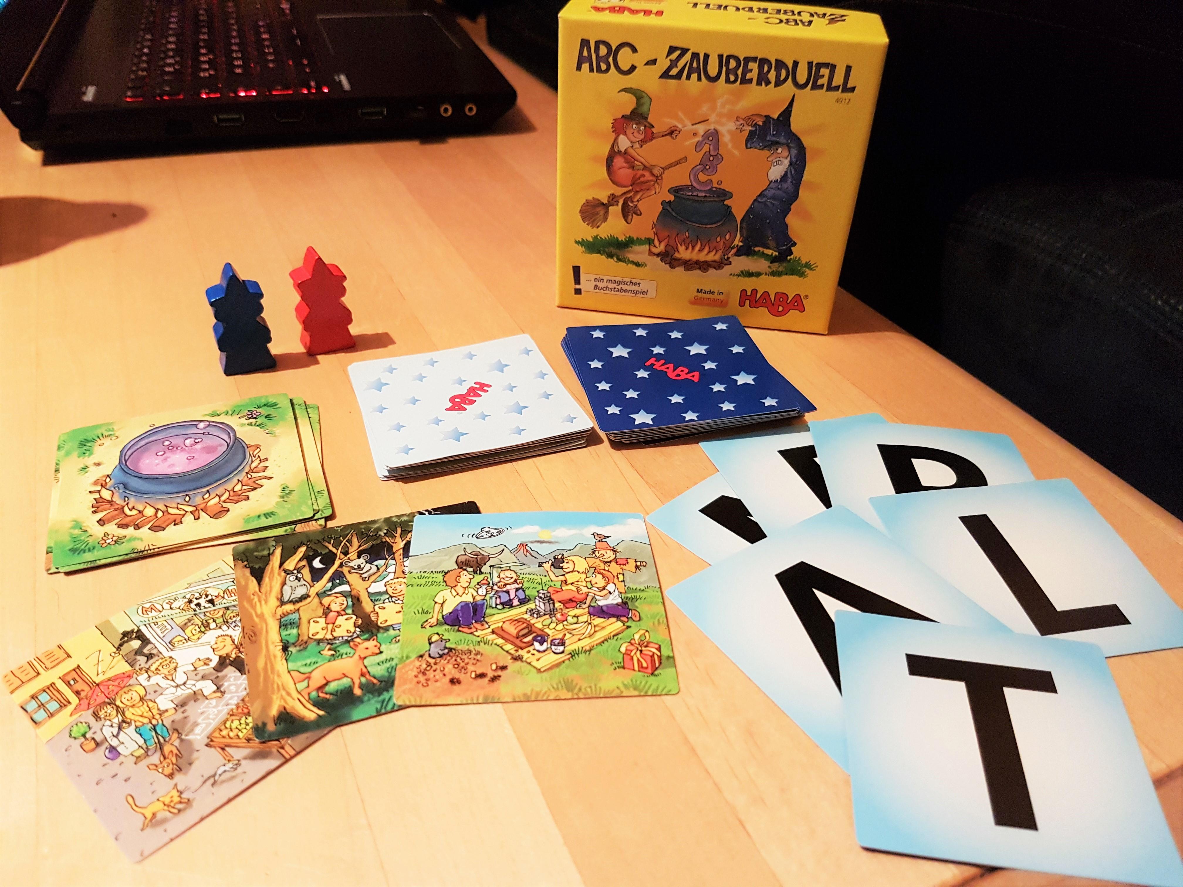 Zauberduell NEU /& OVP 6-99 Jahre Haba 4912 1 und mehr Spieler ABC
