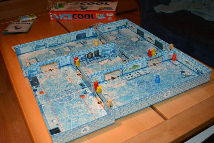 AMIGO ICECOOL Gesellschaftsspiel Familie Kinderspiel Pinguine