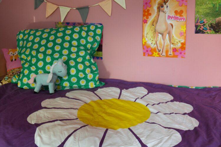 Fred´s World Green Cotton Bettwäsche Hase Gänseblümchen Margeriten