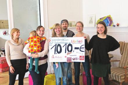Wir unterstützen Librileo gemeinnützig: Denn gemeinsam sind wir stark!