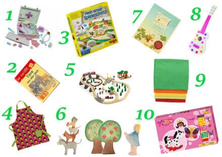 Ellas Wunschzettel: 10 Geschenketipps für Kinder ab 2 1/2 Jahren